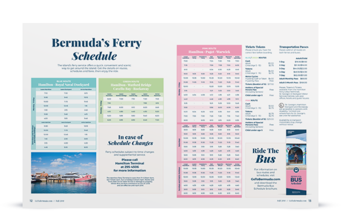 bermuda brochures maps official visitor guides go to bermuda