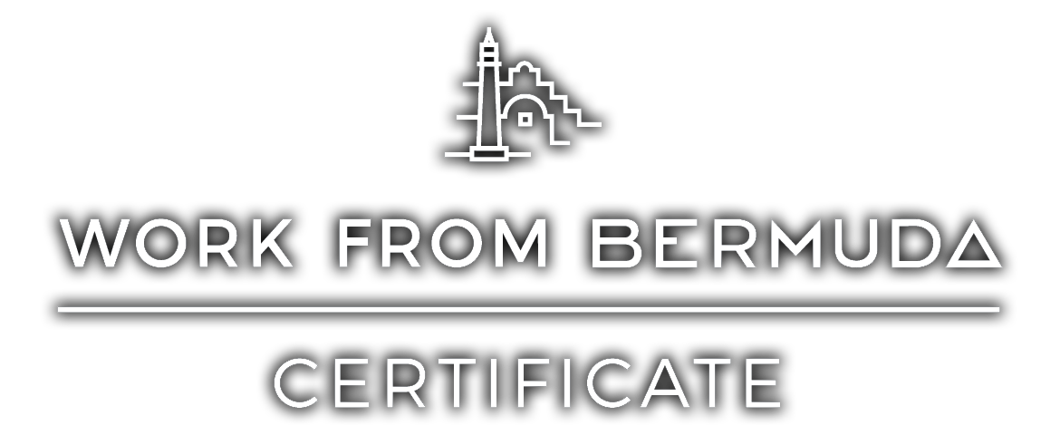 Work From Bermuda Certificate Logo