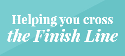 Helping you cross the finish line
