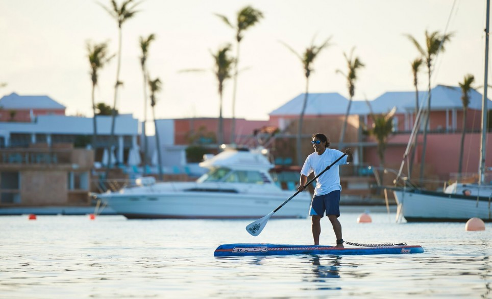 Paddleboarding in Bermuda