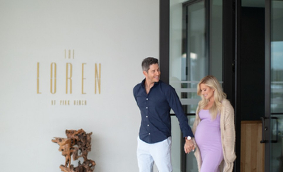 Arie and Lauren at The Loren Hotel
