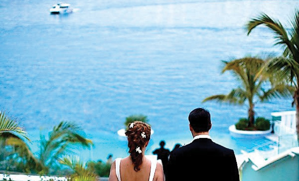 Newstead Bermuda wedding