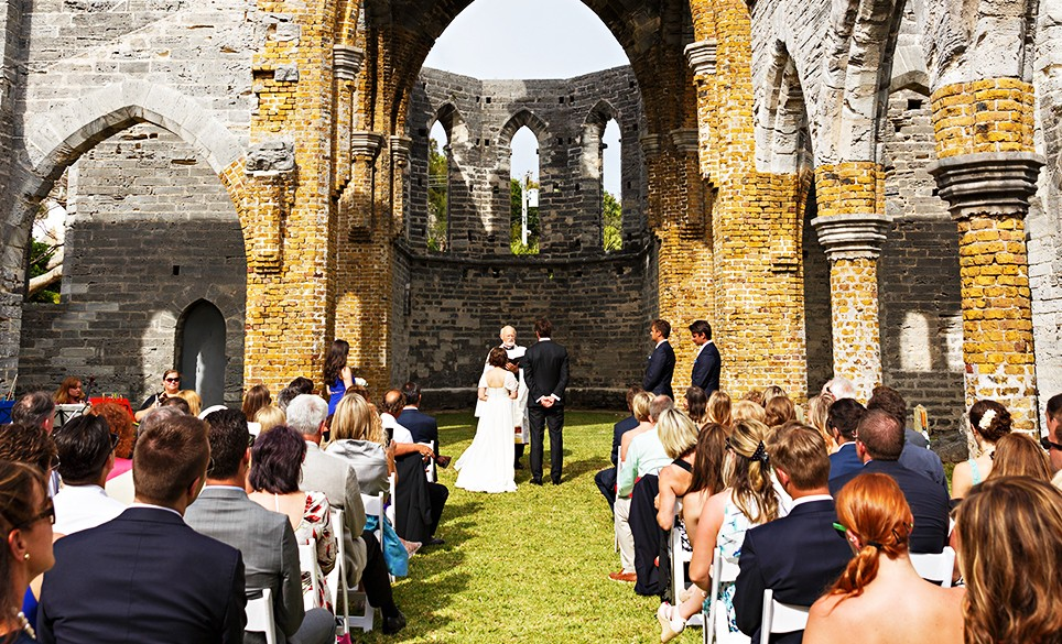 Host The Ceremony Inside Unfinished Church