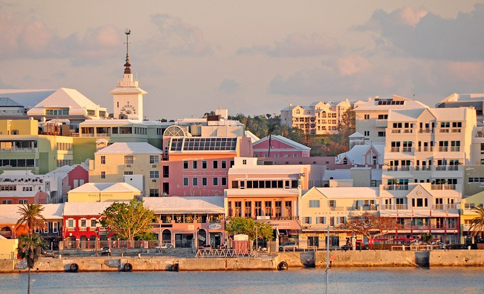 City of Hamilton, the Capital of Bermuda
