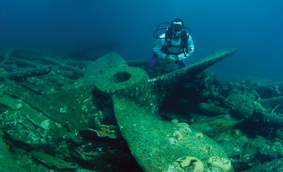 The Cristobal Colon Shipwreck, Bermuda
