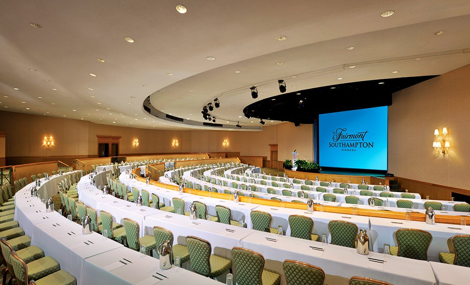 Meeting facilities at The Fairmont Southampton in Bermuda