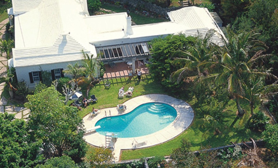 Aerial View of Garden House