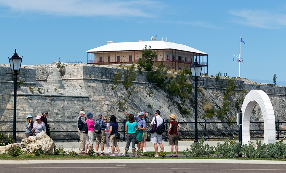 Royal Naval Dockyard tours in Bermuda