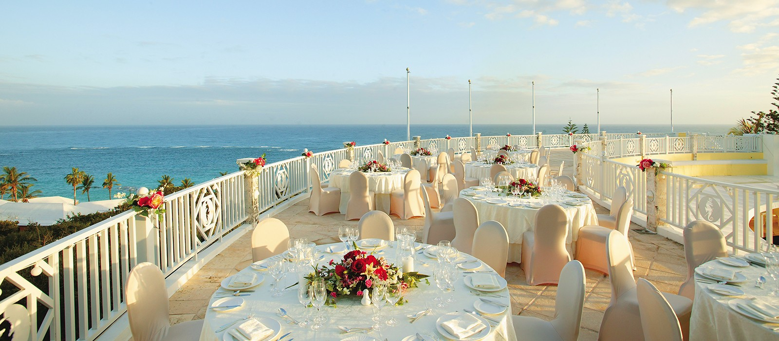 Elbow Beach Balcony Perfect For Events Of All Sizes In Bermuda