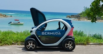 Bermuda Twizy-two seater electric car