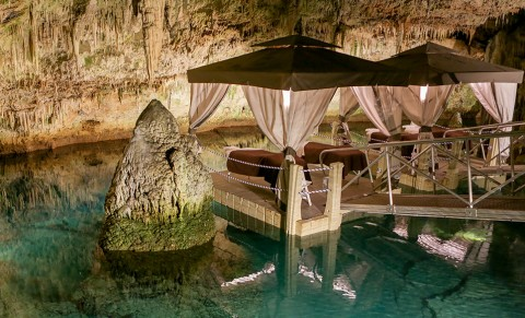 Grotto Bay Spa in Bermuda's Crystal Caves