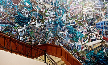 Hall of History Mural by Local Artist Graham Foster