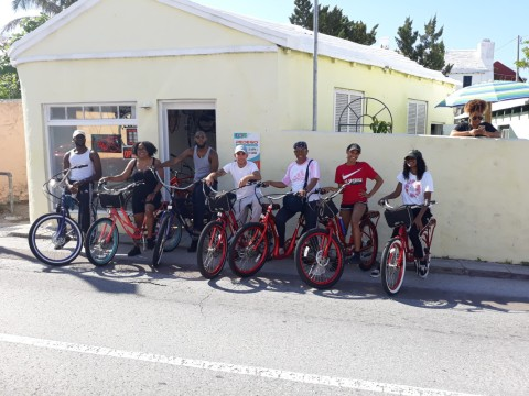 Pedego Bermuda, a black-owned business offering electric bikes