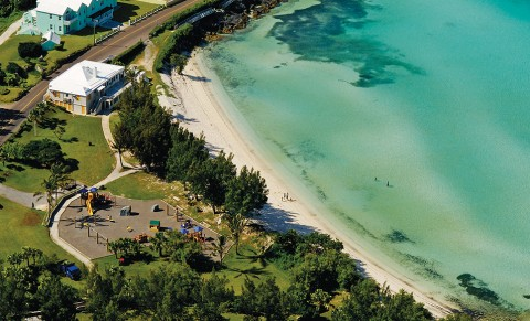 Shelly Bay Beach in Bermuda