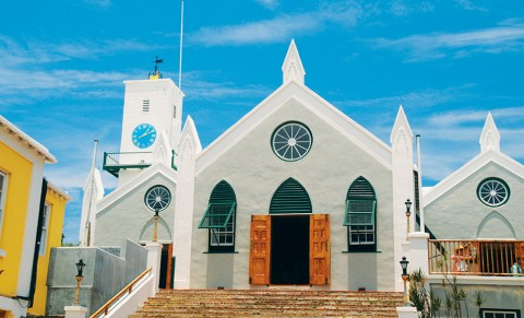 St. Peter's Church, Their Majesties Chappell, St. George Bermuda