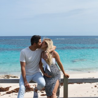 Arie and Lauren Bermuda Babymoon