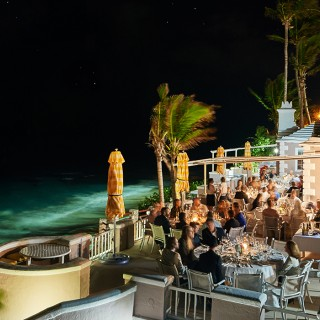 party at a private club in Bermuda