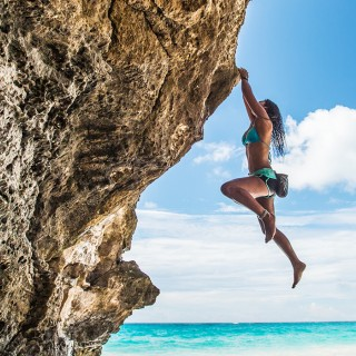Rock climbing in Bermuda
