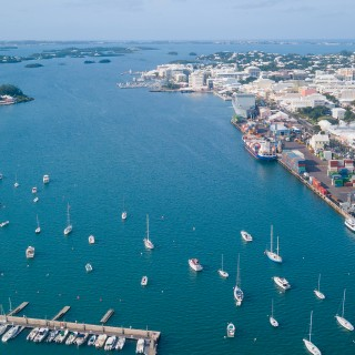 A view of Hamilton from above