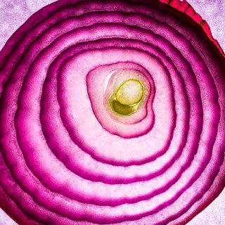 Bermuda's red onion
