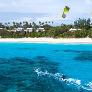 Elbow Beach Kiteboarders