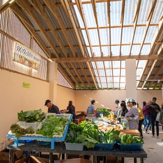 The Farmers Market at Bermuda's Botanical Gardens