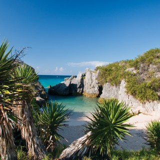Jobson's Cove in Bermuda's South Shore
