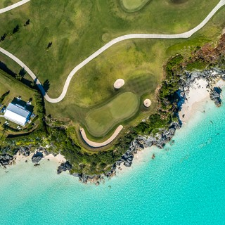 Port Royal Golf Course from above