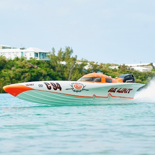 powerboat in bermuda