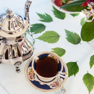 Traditional tea at the Rosedon in Bermuda
