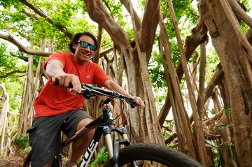 Biking the Railway Trails in Bermuda