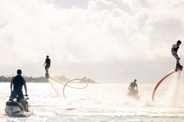 Fly Boarding in Bermuda