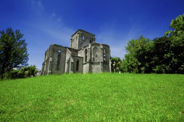 The Unfinished Church in St. George, Bermuda