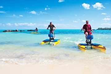 Hydrobiking in Bermuda