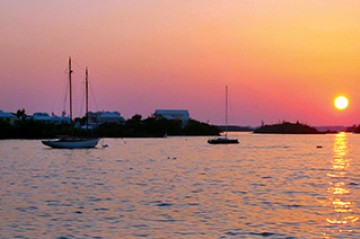 Newstead Bermuds sunset