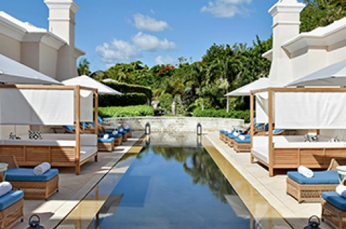 rosewood hotel infinity pool relax spa accommodations