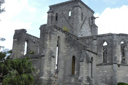 The Unfinished Church in St. George's