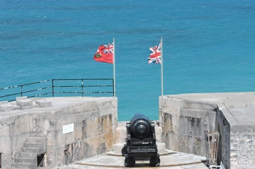 Fort St. Catherine in St. George's Parish Bermuda