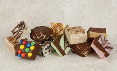 Selection of our fudge