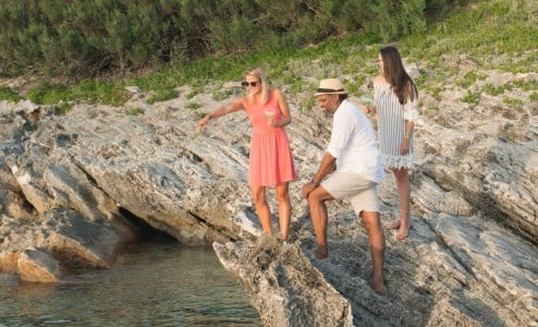 Winnow experience private beach excursion
