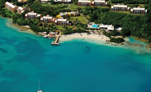 Aerial View of Grotto Bay Beach Resort & Spa