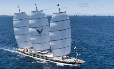 The Superyacht Regatta was a highlight of the 35th America's Cup in Bermuda